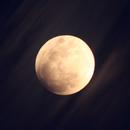 Animation de l'éclipse partielle de Lune du 16 juillet 2019 (lunar eclipse animation),                                Laurent3112