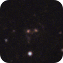Cheshire Cat Galaxy Cluster - Gravitational Lensing Example,                                Gary Imm