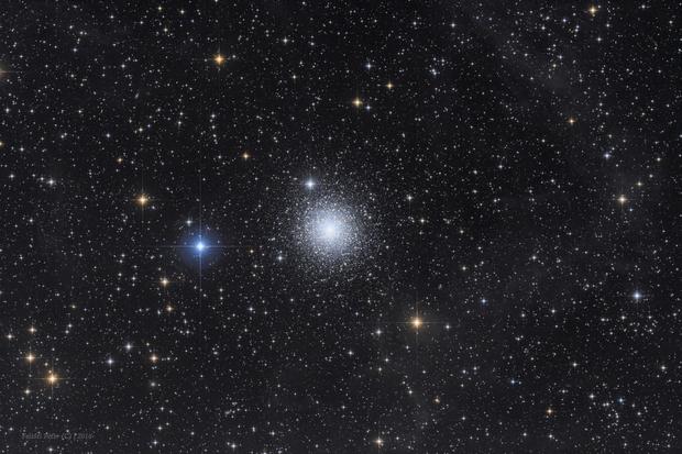 Messier 15 and IFN,                                Péter Feltóti
