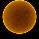 Solar Disc in Hydrogen Alpha Feb 27th 2017,                                Martin (Marty) Wise