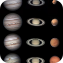 Major planets, April to July 2018 showing Mars approach to Opposition,                                Shaun Fletcher
