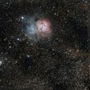 Messier 020 - Trifid Nebula,                                MRPryor