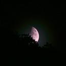 Mondaufgang mit halber Verfinsterung,                                Caspar Schumann