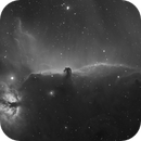 Horsehead (IC 434) and Flame Nebula (NGC 2024) in H-Alpha,                                LucasB