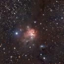 "NGC 1579, the ""Northern Trifid"" Nebula,                                Jari Saukkonen"