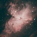 Eagle Nebula - M16,                                jhawn
