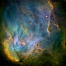 IC2944, Running Chicken Nebula,                                John Ebersole