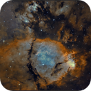 Fish head nebula (Ha -OIII),                                sky-watcher (johny)