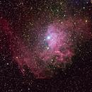IC 405 - Flaming Star Nebula,                                Insight Observatory