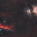 Orion + Horsehead Nebulae (M42 + IC434),                                Ysty