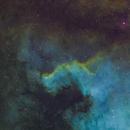 NGC 7000, The Cygnus Wall,                                Bob Rucker