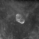 NGC6888 - Crescent & Soap Bubble,                                stevewinston