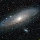 M31 con colori meno saturati,                                Massimiliano Zulian