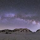 Milky Way Over The Mt.Tateyama,                                Hideki