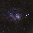 Re-Processed M8 Lagoon Nebula,                                John Richards