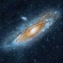 M31 Andromeda Galaxy,                                Muhammad Ali