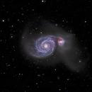 M51 (Whirpool Galaxy),                                snakagawa