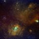 Bubble nebula (C11/NGC7635/Sh2-162) and its surroundings,                                Ram Samudrala