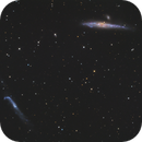 The Whale (NGC 4631) and the Hockey Stick (NGC 4656),                                Madratter