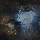 M17 - Nebulosa Omega SHO,                                José Fco. del Agu...