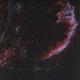 NGC6992 and NGC6995 - Eastern Veil Nebula - HaOIII,                                Roberto Botero
