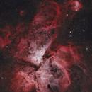 Eta Carinae Nebula NGC 3372 & Gabriela Mistral Nebula 3324,                                Rob Citroni