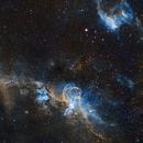 NGC 3576,                                George Varouhakis
