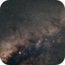 Milky Way Near Sagittarius,                                Mike Sheffler