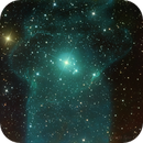 The Squid Nebula, OU4, Hubble Palette with RGB Stars,                                Eric Coles (coles44)