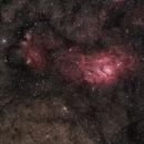 M8 Lagoon Nebula,                                Doug Lalla