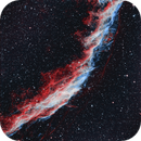 Eastern Veil  -  NGC 6992,                                Seymore Stars