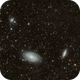 M81 group with intergalactic cirrus,                                Riedl Rudolf