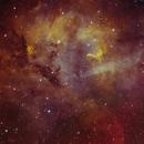 SH2-132 - The Lion Nebula,                                Jochen