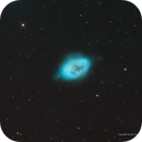 The Robin's Egg Nebula, NGC 1360, in Narrowband,                                Russ Carpenter