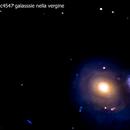 m60 ngc4547  galassie nella vergine                                             distanza 54 milioni 700 mila  A.L.,                                Carlo Colombo
