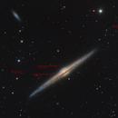 NGC 4565  - with globular clusters,                                Lars Stephan