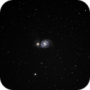 Whirlpool Galaxy,                                Jeff Marston
