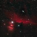 B33-Horsehead Nebula & Flame nebula,                                gibran85