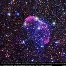 Crescent Nebula - Visual Spectrum,                                Michael Fürsatz