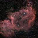 IC1848 - nébuleuse de l'âme,                                jpettit