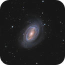NGC 4725 - The One-Armed Spiral Galaxy,                                Chad Leader
