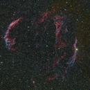 Veil Nebula and surrounding dust,                                jimww