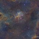 Heart nebula,                                Justin Daniel