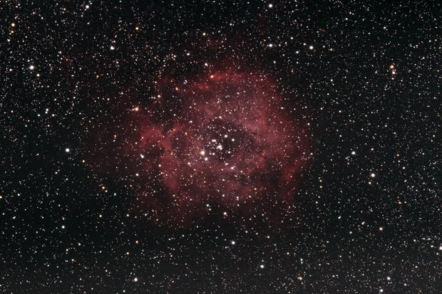 The Rosette Nebula,                                Gideon Golan