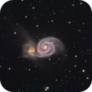 M51 HaLRGB,                                Nik Coli