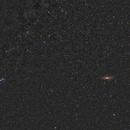 Cassiopeia area and Andromeda galaxy,                                pedro lozano