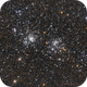 Perseus Double Cluster alias NGC869/884 (alias H X Persei),                                Riccardo A. Balle...