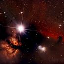 Horsehead Nebula (IC434) / Flame Nebula (NGC 2024),                                Kirchen Claude