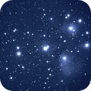 M45 @ 270mm and cropped 8x80 sec ISO 1600 f/5.6 ,                                Neil Emmans