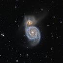 Whirlpool Galaxy,                                Samuel